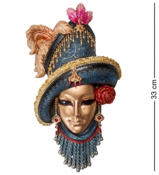 WS-368 Венецианская маска  Леди в шляпе