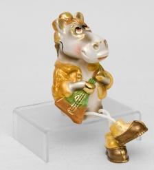 16076 Фигурка гипсовая  Конь Ваня  зол.