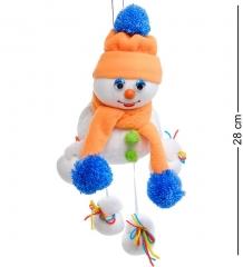 ТК-528 Игрушка лоскутная  Снеговик