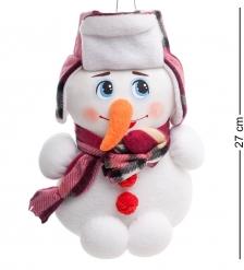 ТК-529 Игрушка лоскутная Снеговик бол. - Вариант A