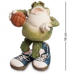 FG-6324-XC Фигура-болванчик Лягушка  Баскетболист Фрогги   Sealmark
