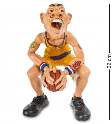 RV-209 Фигурка Баскетболист В предвкушении... бол.  W.Stratford