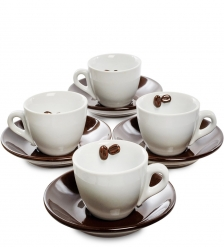 FD-04 Чайный н-р на 4 перс.Для влюбленных в кофе