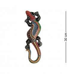 20-067 Панно настенное  Геккон   албезия, о.Суматра  30 см