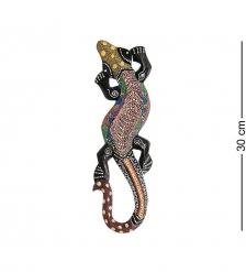 20-075 Панно настенное «Геккон»  албезия, о.Суматра  30 см