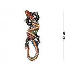 20-083 Панно настенное  Геккон   албезия, о.Суматра  30 см