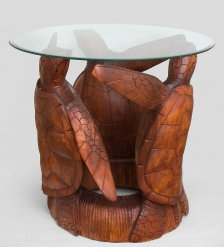 15-049 Стол  Три черепахи  80 см суар