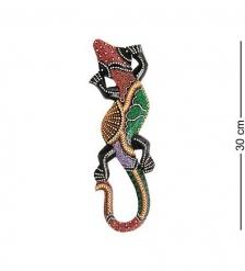 20-015 Панно настенное Геккон  албезия, о.Бали  30 см