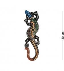 20-019 Панно настенное  Геккон   албезия, о.Бали  30 см