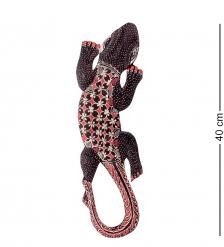 10-028 Панно настенное  Геккон Джава   батик, о.Ява  40 см