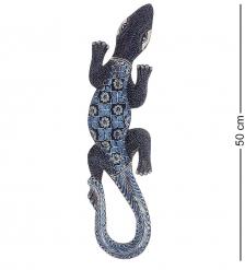 10-033 Панно настенное  Геккон Джава   батик, о.Ява  50 см