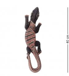 10-036 Панно настенное  Геккон Джава   батик, о.Ява  40 см
