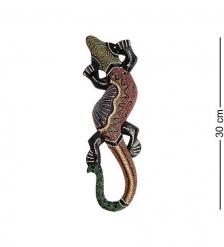 20-003 Панно настенное  Геккон   албезия, о.Бали  30 см