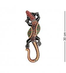 20-011 Панно настенное «Геккон»  албезия, о.Бали  30 см