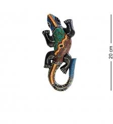 20-036 Панно настенное «Геккон»  албезия, о.Бали  20 см