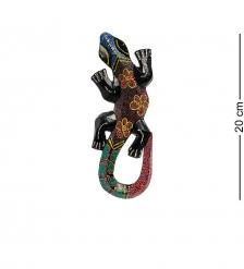 20-044 Панно настенное «Геккон»  албезия, о.Бали  20 см