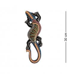20-079 Панно настенное  Геккон   албезия, о.Суматра  30 см