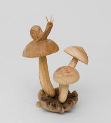 50-012 Статуэтка «Улитка на грибе»