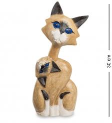 40-007 Статуэтка  Кошачья гибкость  суар 30 см