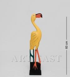 90-017 Статуэтка «Желтый Фламинго» 60 см