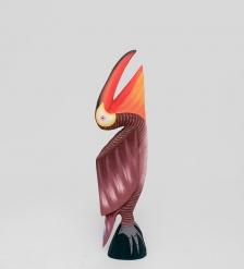 90-056 Статуэтка  Розовый Пеликан  60 см