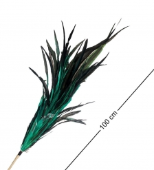 14-060 Декоративный веничек из перьев  о. Бали