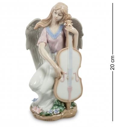 JP-16/14 Статуэтка ангел Волшебная виолончель  Pavone