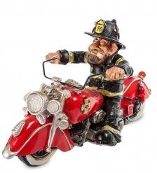 RV-293 Фигурка  Пожарный Байкер   W.Srtatford