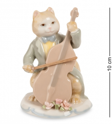 CMS-48/ 2 Фигурка «Кот с виолончелью»  Pavone