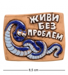 ФК- 7 Магнит «Живи без проблем!»  Step
