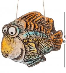 KK-244 Панно  Рыба  шамот