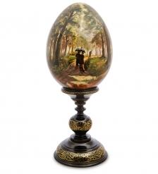 ИКО-41 Яйцо-икона  Дубовая роща  Рябов С.