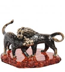 AM- 288 Фигурка «Львы Саванна»  латунь