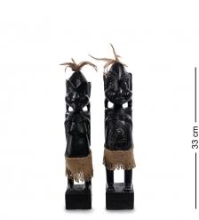 22-006 Статуэтка «Асмат» н-р из двух, 33 см