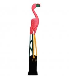 90-002 Статуэтка «Розовый Фламинго» 125 см
