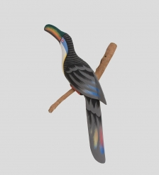 90-067 Статуэтка  Тукан на ветке  50 см