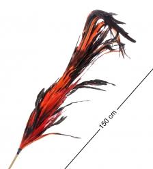 14-048 Декоративный веничек из перьев  о. Бали