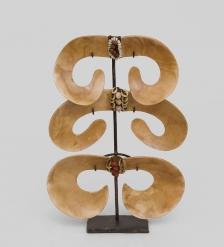 27-021 Декорация  Папуа  25см  Папуа