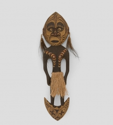 27-025 Панно  Абориген Папуа  50см  Папуа