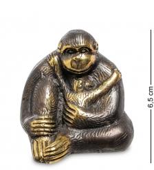 24-012 Фигура  Горилла  бронза  о.Бали  средняя