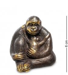 24-013 Фигура  Горилла  бронза  о.Бали  малая