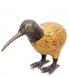 24-039-01 Фигурка  Птица Киви  бронза  о.Бали  большая - Вариант A