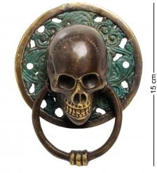 24-060 Фигура с кольцом  Череп  бронза  о.Бали  большая