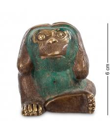 24-069 Фигура «Обезьяна» бронза  о.Бали