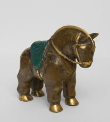24-072 Фигура  Лошадь  бронза  о.Бали