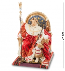 WS-726 Статуэтка  Наполеон на императорском троне   Жан Огюст Доминик Энгр