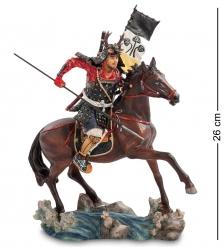 WS-742 Статуэтка  Самурай на коне