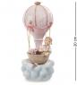 CMS-27/18 Фигурка муз. Девочка на воздушном шаре  Pavone