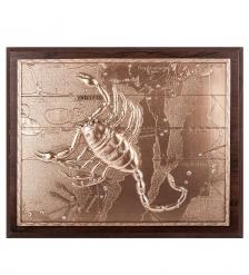 ПК-107 Панно  Знак зодиака Скорпион  25х20