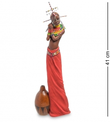 WS-730 Статуэтка  Девушка племени Масаи